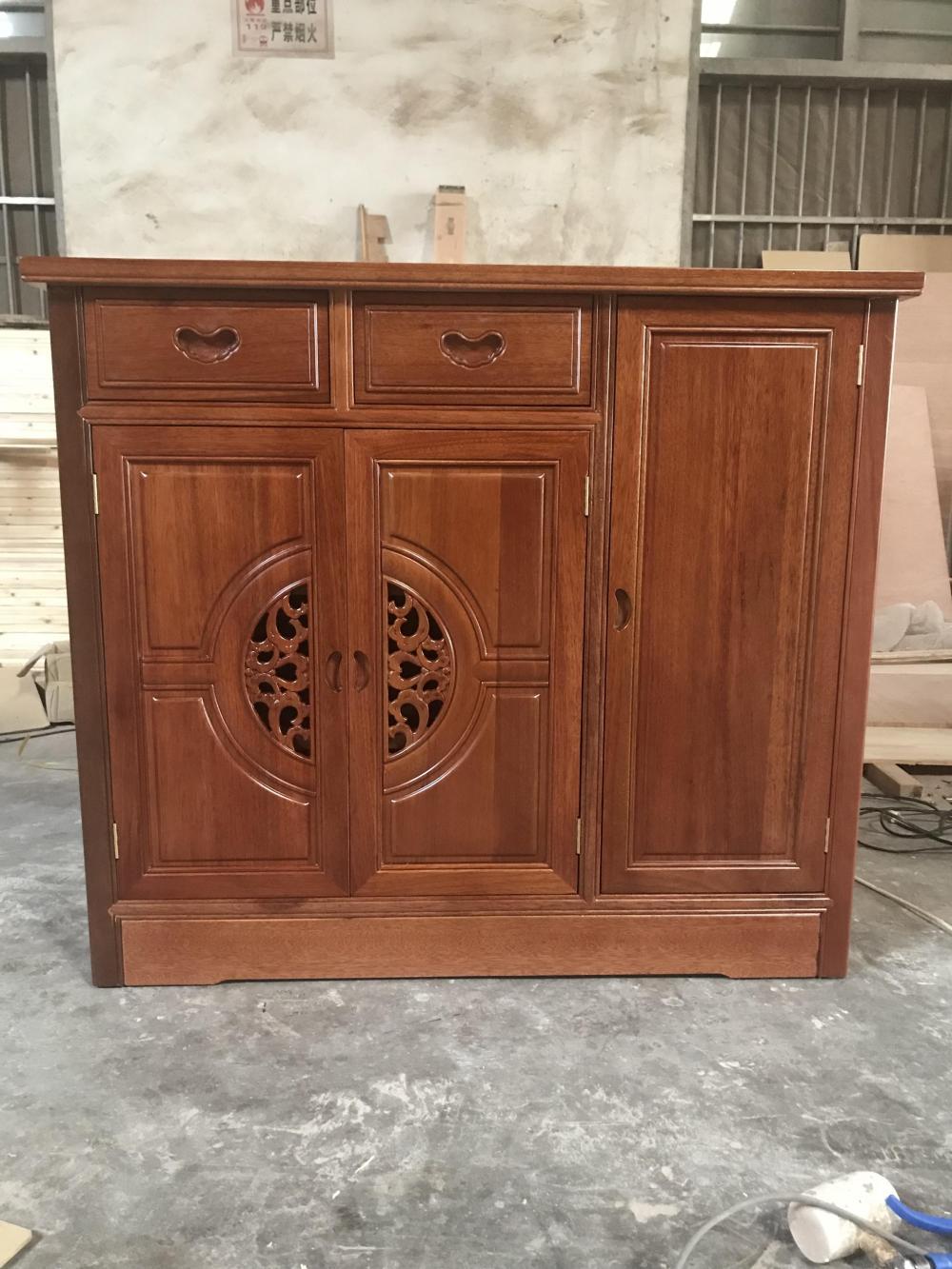 海棠木鞋柜