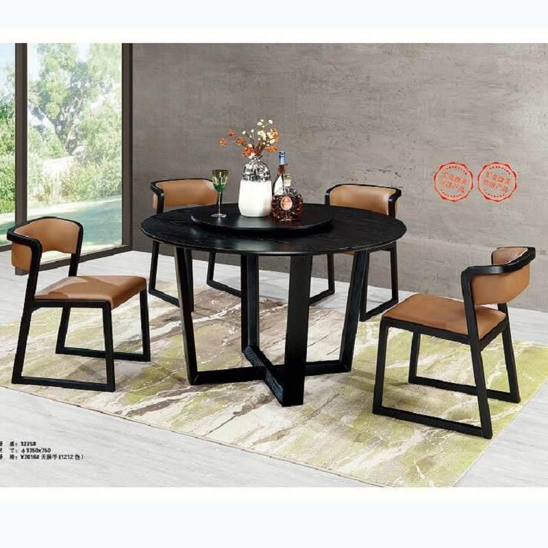 意式极简北欧餐桌现代简约小户型家用长方形吃饭桌子