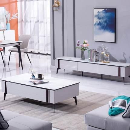现代简约茶几电视柜组合北欧小户型客厅简易风格家用套装机地柜子