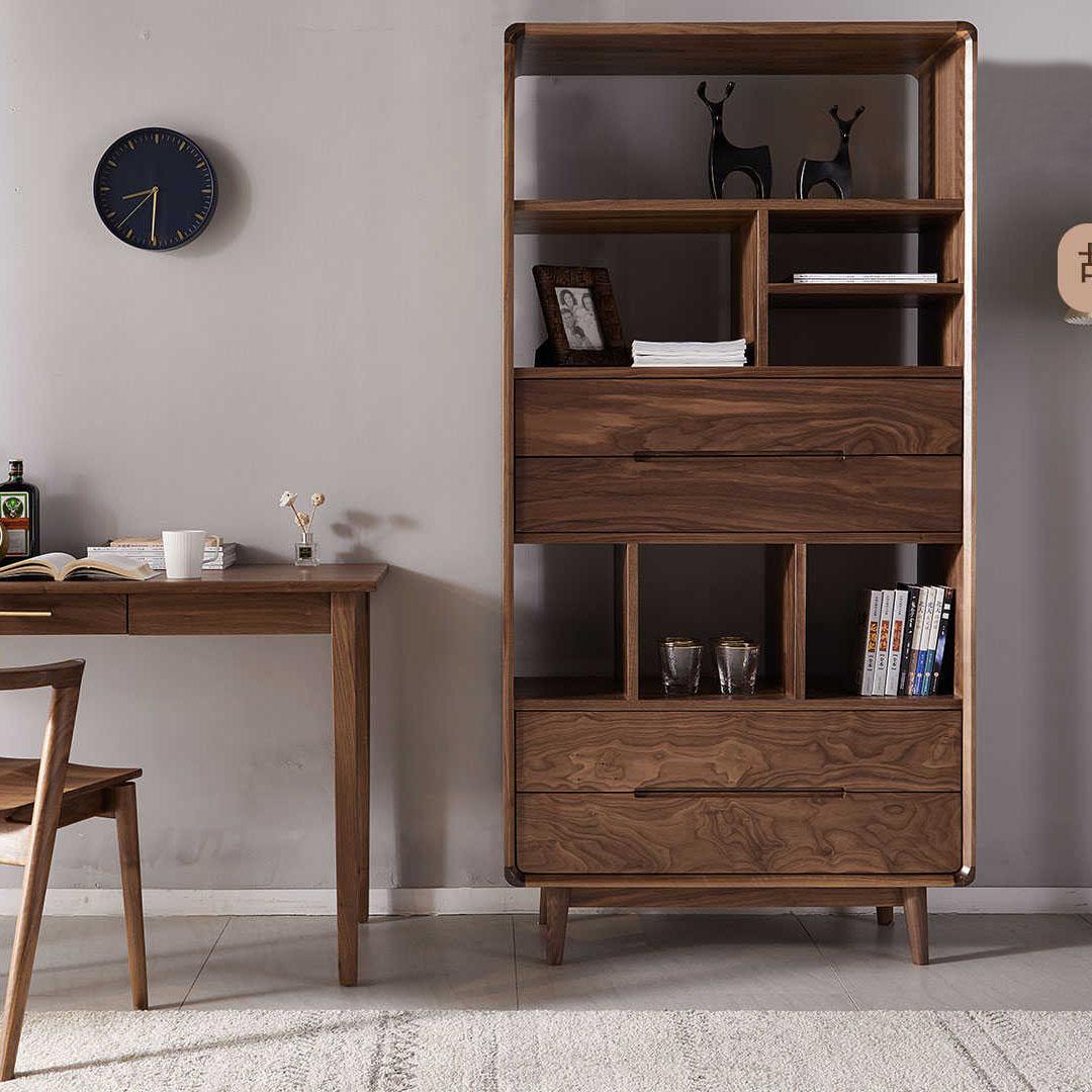 全实木书桌简约现代书房家具学习桌北欧写字台办公桌子家用电脑桌
