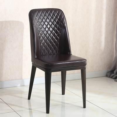 餐椅现代简约北欧家用成人铁艺欧式美式经济型餐厅酒店椅靠背椅子