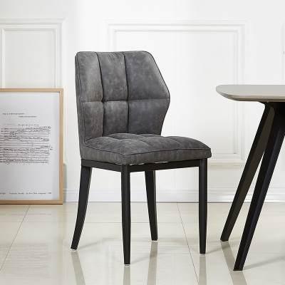新款北欧轻奢餐椅简约现代ins网红椅子家用餐厅酒店软包靠背椅休