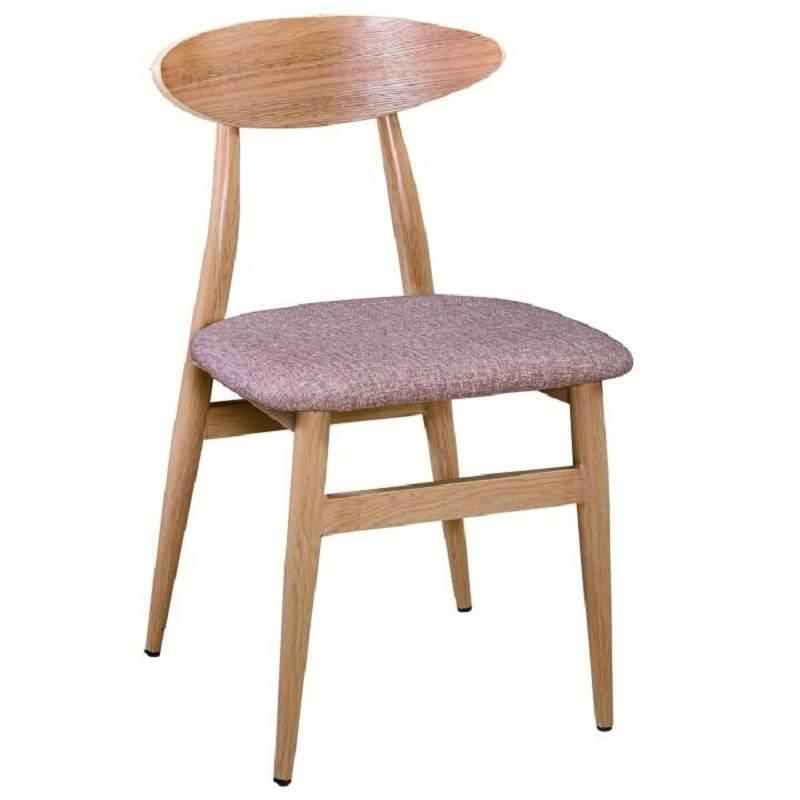 实木餐椅现代简约北欧家用靠背椅单人椅子酒店咖啡厅餐厅休闲凳子