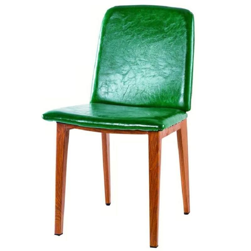 轻奢洽谈椅售楼处餐桌椅组合简约北欧铁艺餐椅奶茶店咖啡厅休闲椅