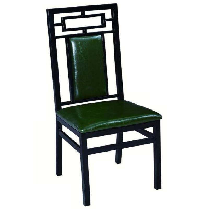 新中式餐厅酒店宴会椅子时尚简约古典饭店餐桌椅仿实木包厢家用椅