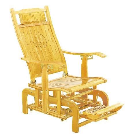 竹摇椅躺椅成人摇摇椅阳台逍遥椅折叠午休午睡竹椅休闲老人椅实木
