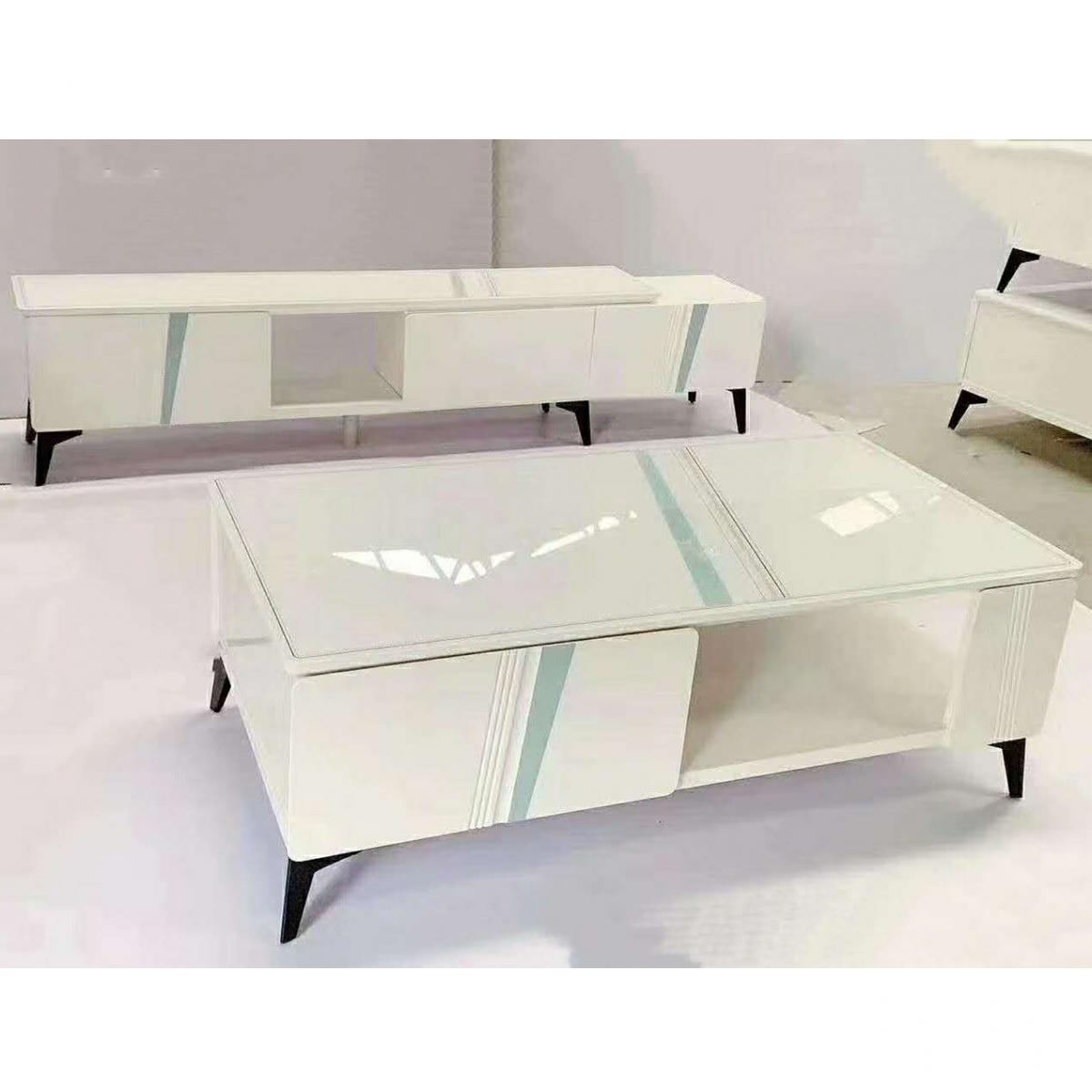 客厅家具茶几 电视柜 组合小户型 现代简约伸缩电视柜 储物柜