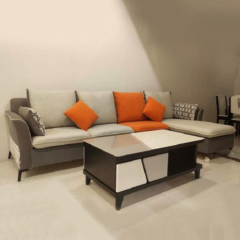玻钢石新款茶几电视柜组合现代简约大理石北欧伸缩台柜客厅小户型