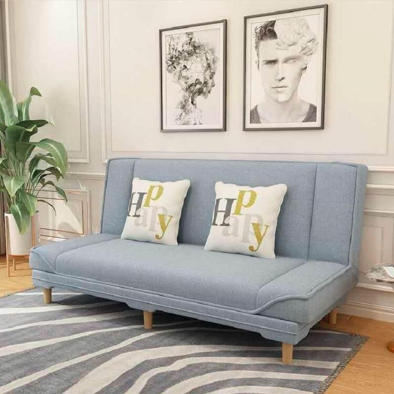 沙发小户型可折叠北欧简约现代客厅卧室整装公寓布艺懒人沙发