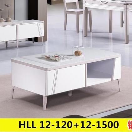 ins北欧实木电视柜现代简约小户型伸缩电视机柜茶几套装组合地柜