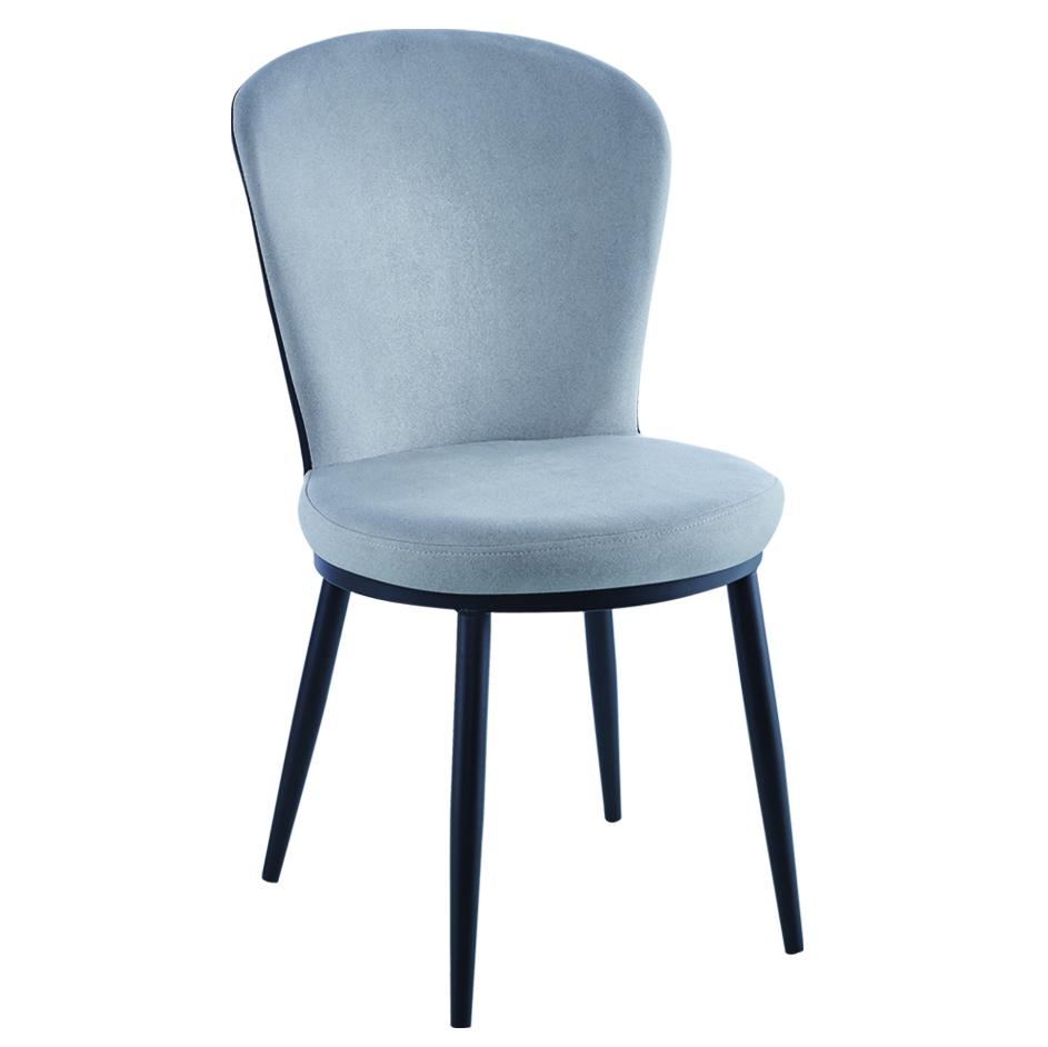 北欧轻奢铁艺餐椅家用现代简约酒店凳子靠背椅子简约化妆椅美甲椅