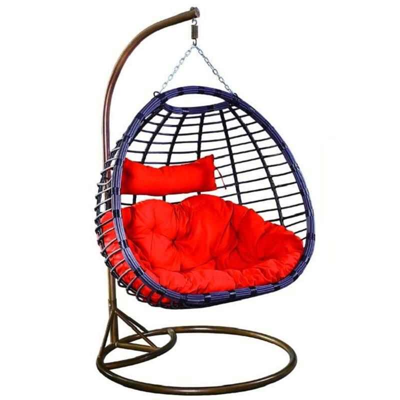 阳台休闲双人吊篮家用藤椅秋千室内摇篮鸟巢网红吊椅摇椅吊床椅子