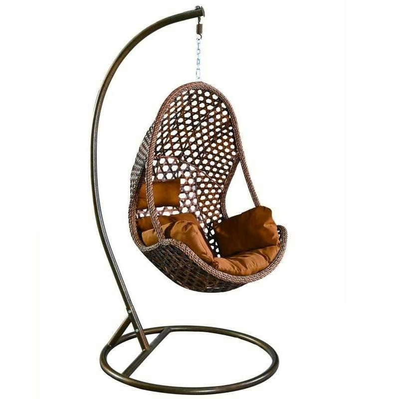 户外阳台休闲吊篮吊椅室内外秋千摇椅家庭懒人吊床摇篮椅