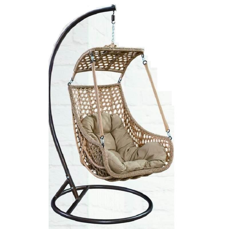 秋千吊椅双人室内休闲吊篮阳台吊蓝藤椅双人成人吊床家用摇篮摇椅