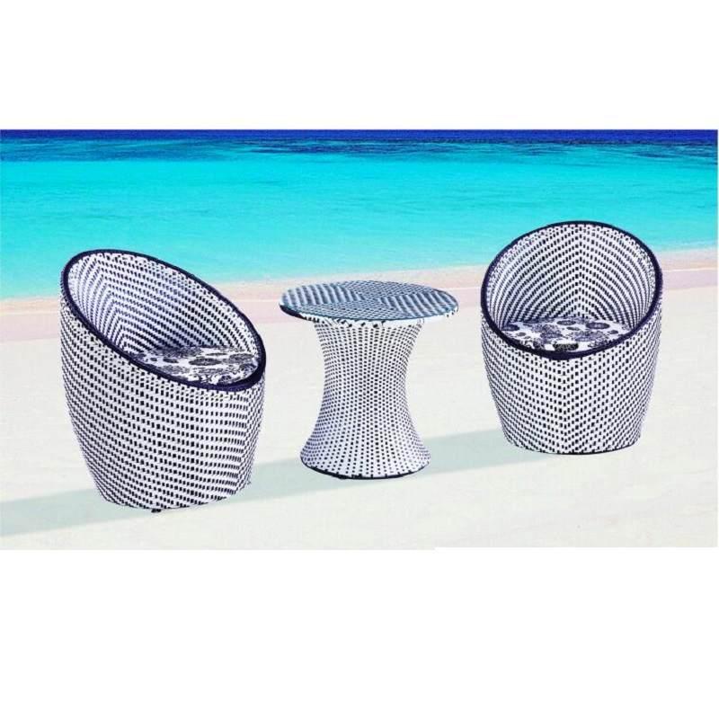 户外五件套藤椅子茶几三件套休闲阳台桌椅组合套装鸟巢时尚桌椅套