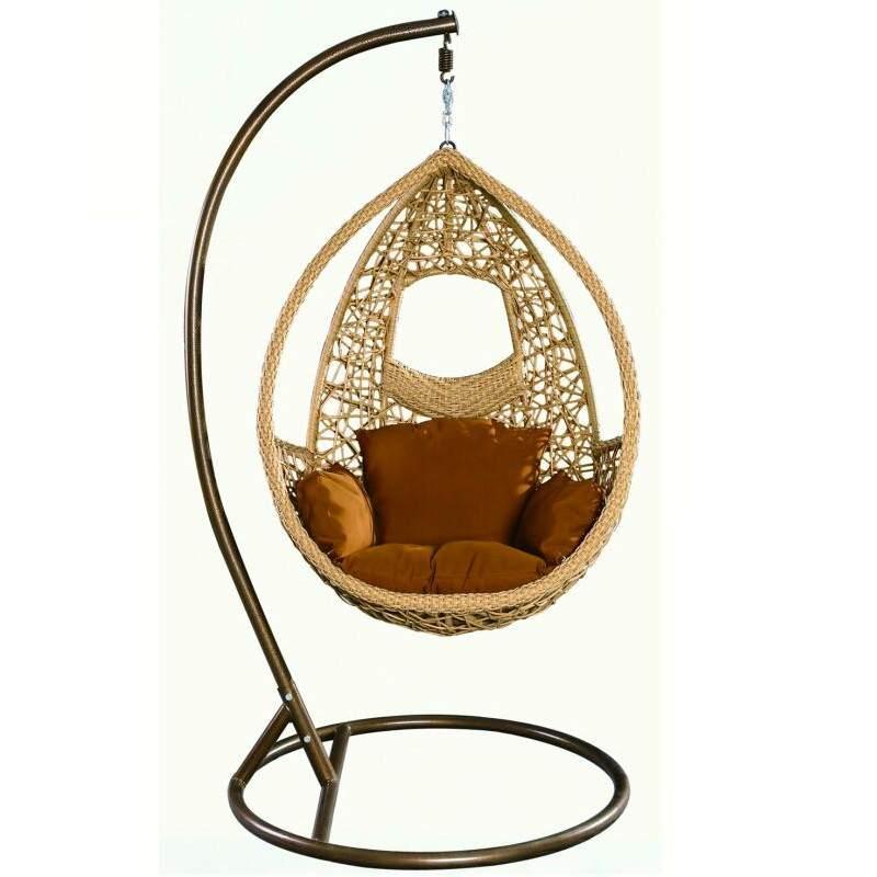 秋千吊椅家用吊篮藤椅室内欧式懒人吊床摇椅阳台鸟巢吊兰椅摇篮椅
