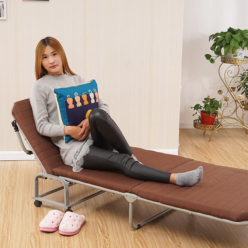 海绵床沙发床折叠床三折床环保办公室午休床陪护床行军床单人床