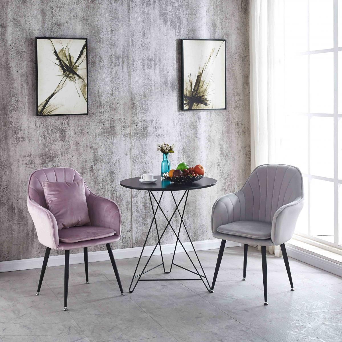 北欧椅子化妆椅ins网红美甲椅现代简约靠背梳妆椅餐厅铁艺家用凳