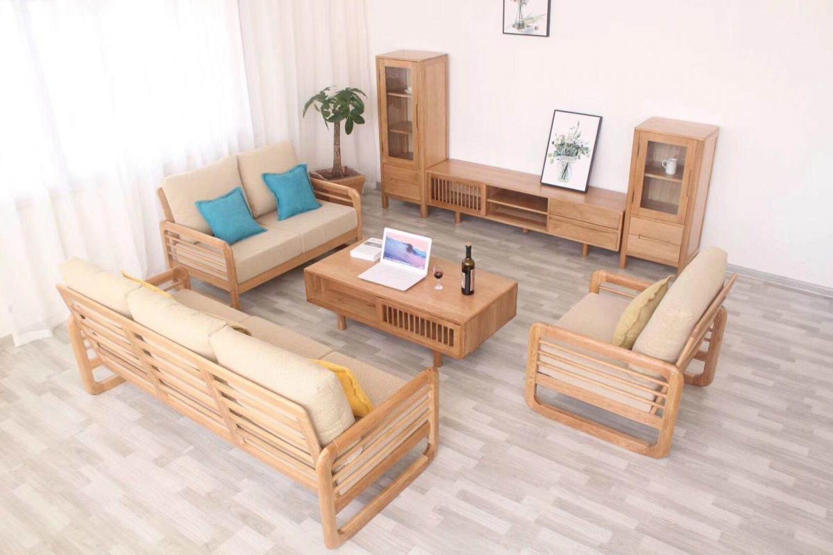 北欧风格家具美国白橡木纯实木