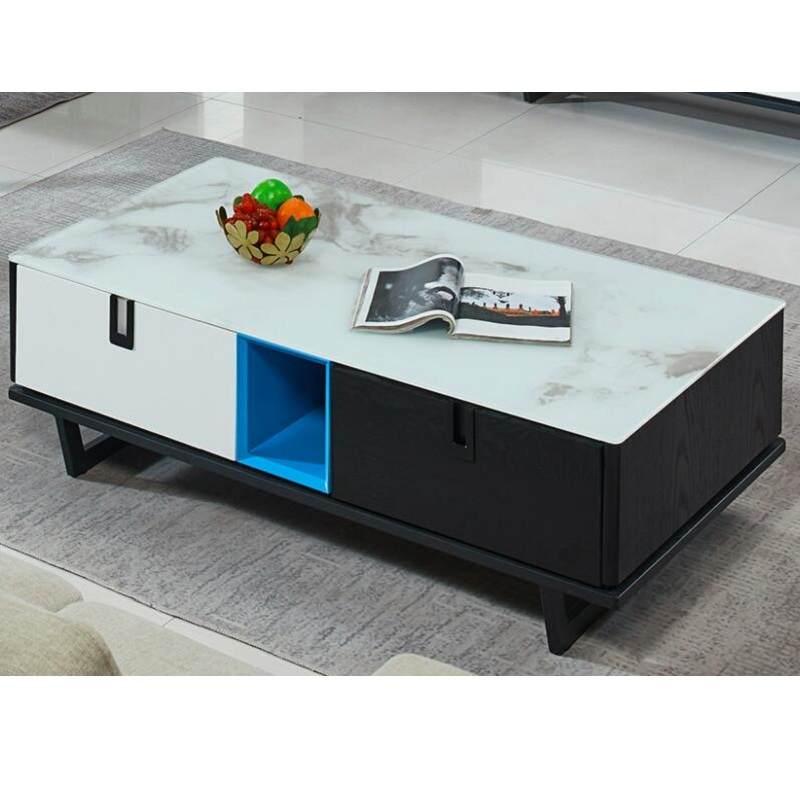 客厅北欧轻奢茶几电视柜组合 后现代简约小户型餐桌椅组合