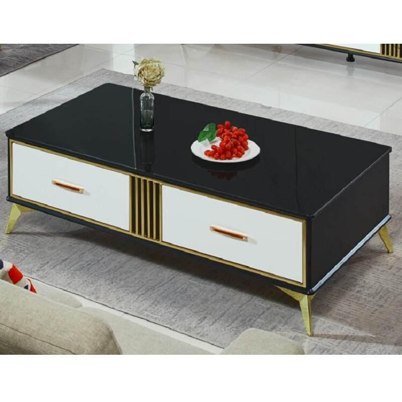 北欧现代简约茶几电视柜餐桌椅组合客厅小户型套装茶几电视柜组合