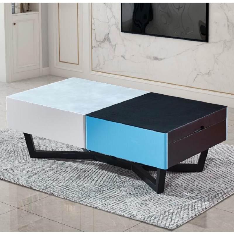 玻璃茶几电视柜组合现代简约小户型北欧风格极简客厅家具2020新款