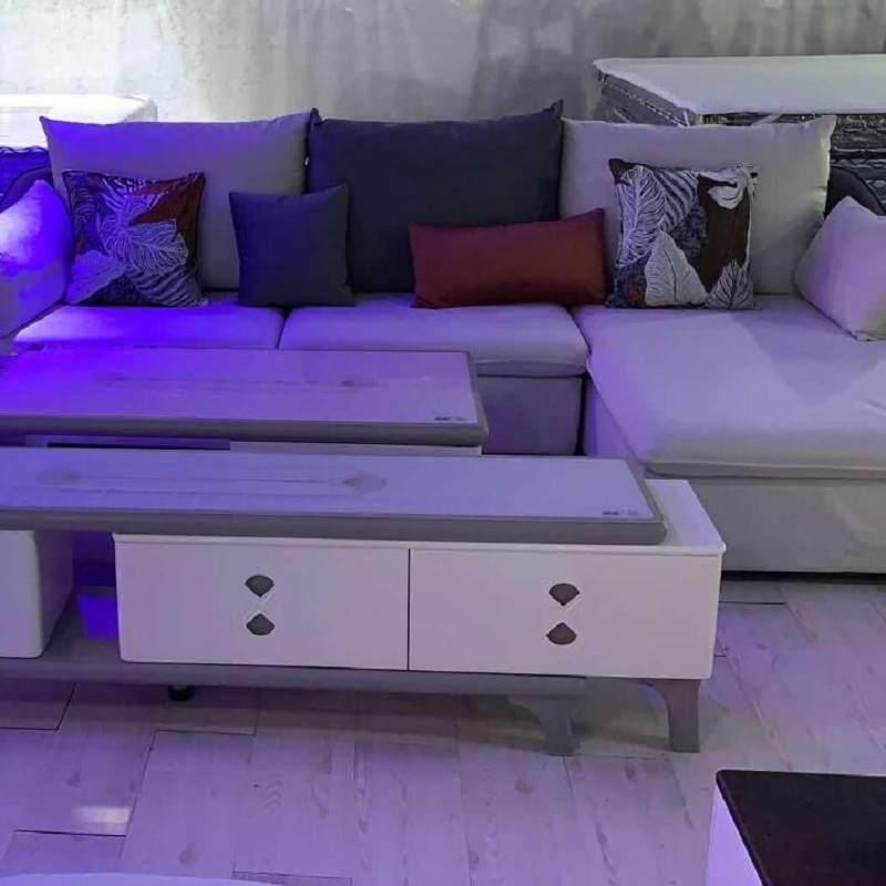 简约现代布艺沙发组合大小户型U型客厅整装家具
