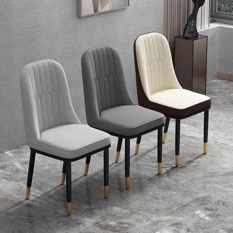 北欧餐桌椅铁艺牛角椅靠背凳子餐厅餐椅小吃火锅快餐桌椅组合座椅