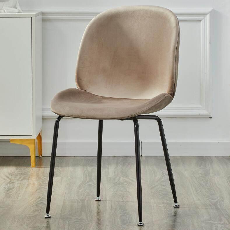 北欧ins椅子网红化妆椅贝壳椅梳妆椅餐椅家用餐厅简易凳子靠背椅