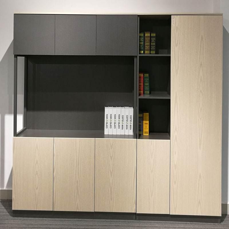新简约现代书柜书架自由组合文件柜办公书柜储物柜收纳柜书橱
