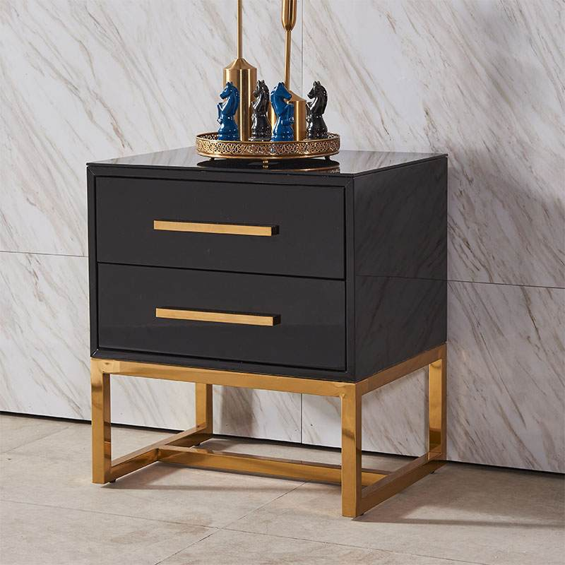 北欧轻奢客厅边几沙发边柜小桌子方几卧室创意角几现代简约床头柜