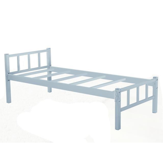 加固加厚简易铁床单人床午睡床员工宿舍铁床铁艺环保铁床