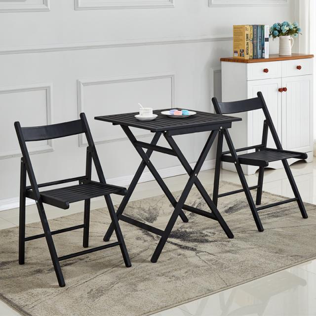 简约咖啡厅桌椅组合搭配铁艺折叠休闲甜品店奶茶店小吃店三件套