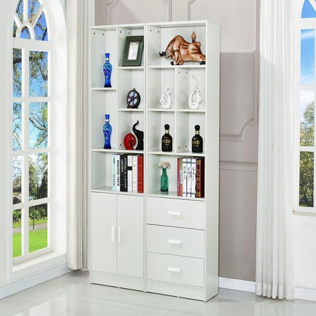 现代简约板式酒柜 隔断玄关柜 书柜 大储物柜门厅柜