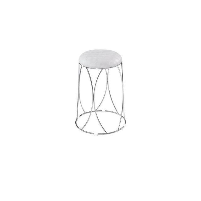 家用圆凳子塑料餐桌凳简约时尚高圆凳方凳加厚钢筋凳套凳