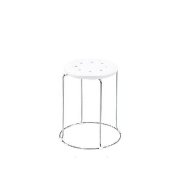 塑料凳子金属圆凳套凳四连体钢筋凳子热卖八孔塑料圆凳子