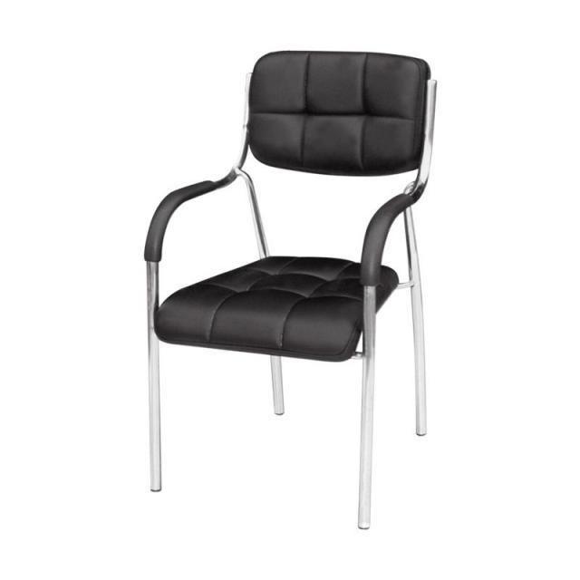 电脑椅办公椅培训椅会客椅子铁制皮质麻将椅办公家具椅