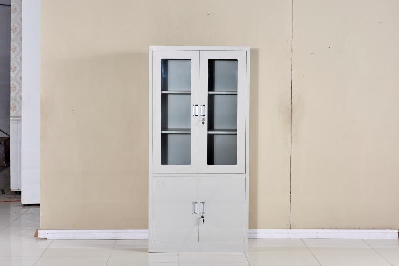 钢制办公家具铁皮柜上下床货架文件柜更衣柜