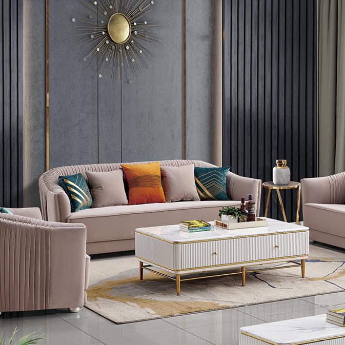 真皮沙发简约现代轻奢头层牛皮客厅意式设计师极简高端纳帕家具