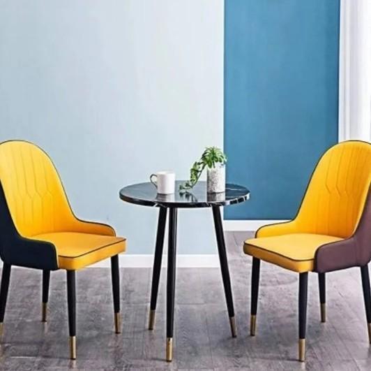 北欧椅子家用轻奢靠背椅成人餐椅现代简约餐厅餐桌椅网红化妆凳