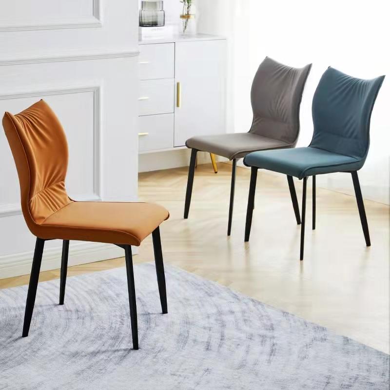 餐椅现代餐椅简约餐椅软包椅家用北欧椅餐厅椅椅子靠背凳子休闲椅创意椅网红餐椅