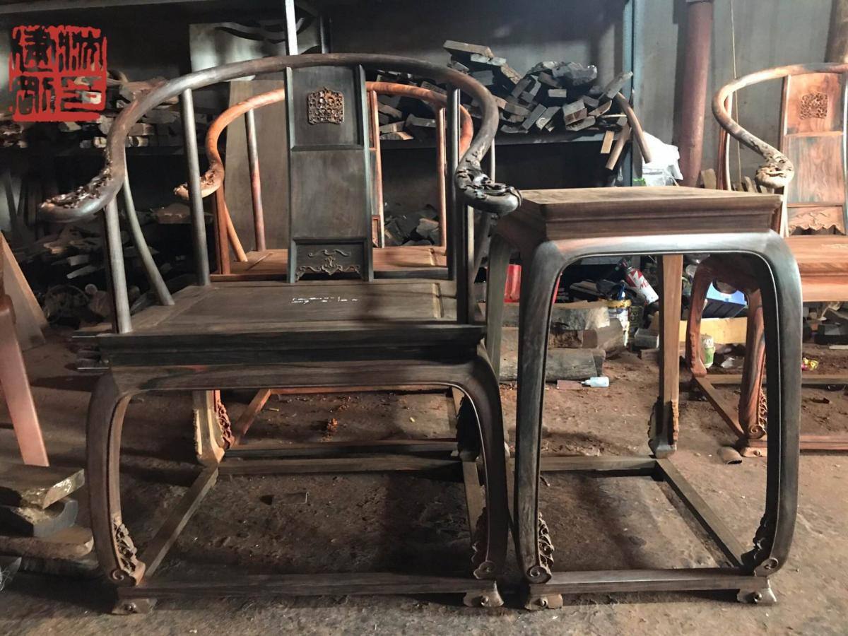 皇宫圈椅 3件套