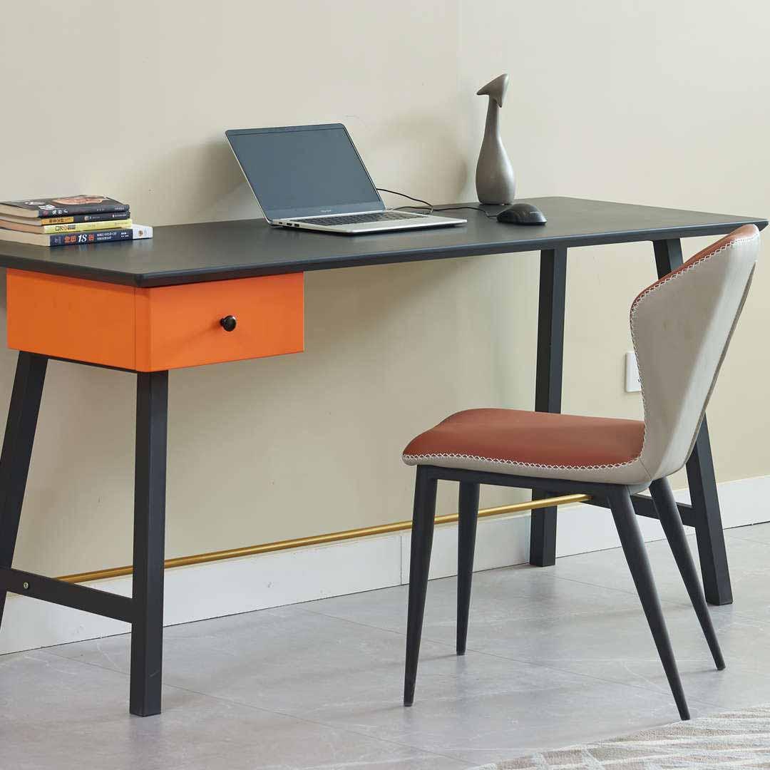 北欧书桌电脑桌台式家用办公桌学生现代简约卧室写字桌简易小桌子