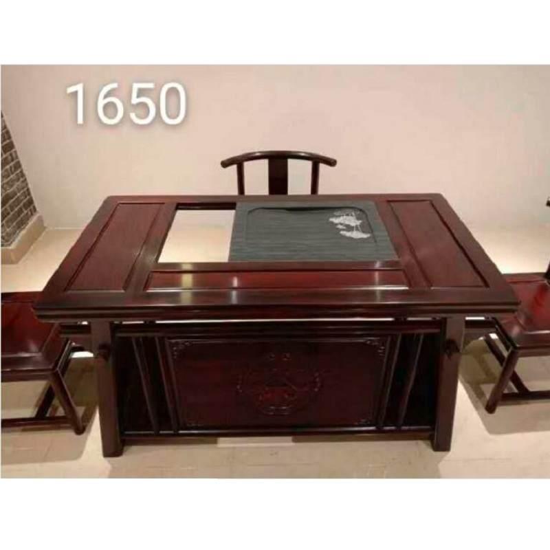 功夫茶桌椅组合实木小茶台一套家用2020新款茶几茶具套装一体茶座