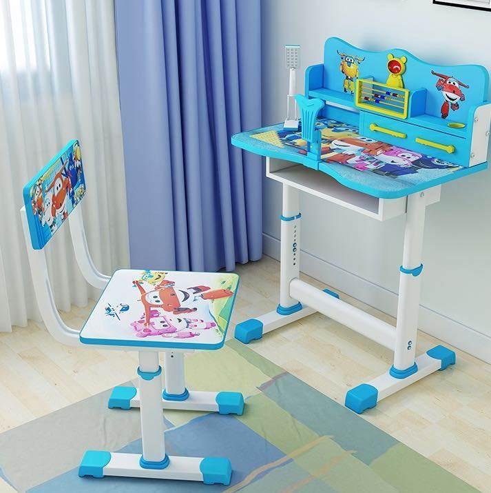 学习桌椅家用儿童课桌椅套升降儿童学习桌小学生简约书桌作业桌