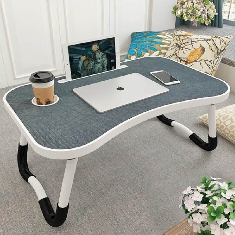 床上小桌子懒人桌大学宿舍神器学生寝室可折叠简易多功能电脑书桌