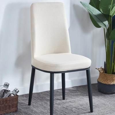 ins网红餐椅北欧椅子靠背凳子家用简约现代餐厅酒店椅简易书桌椅