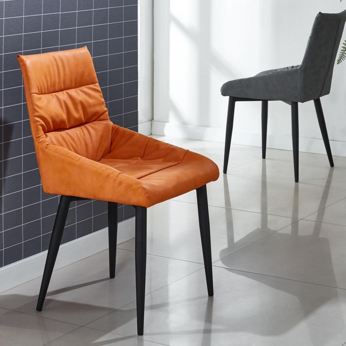 家用现代简约餐椅创意轻奢意极简凳子靠背酒店洽谈软包电脑椅子