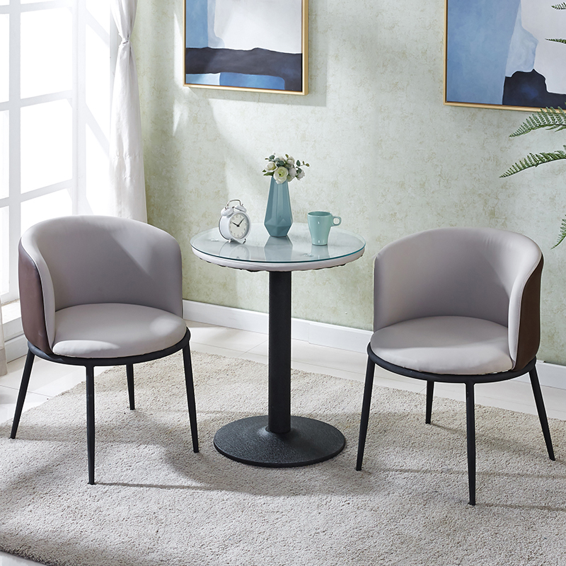 阳台小桌椅休闲创意桌椅组合北欧茶桌椅组合网红小茶几三件套