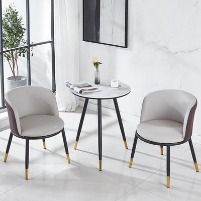 北欧阳台小桌椅网红创意宾馆桌椅组合休闲一桌两椅子小茶几三件套